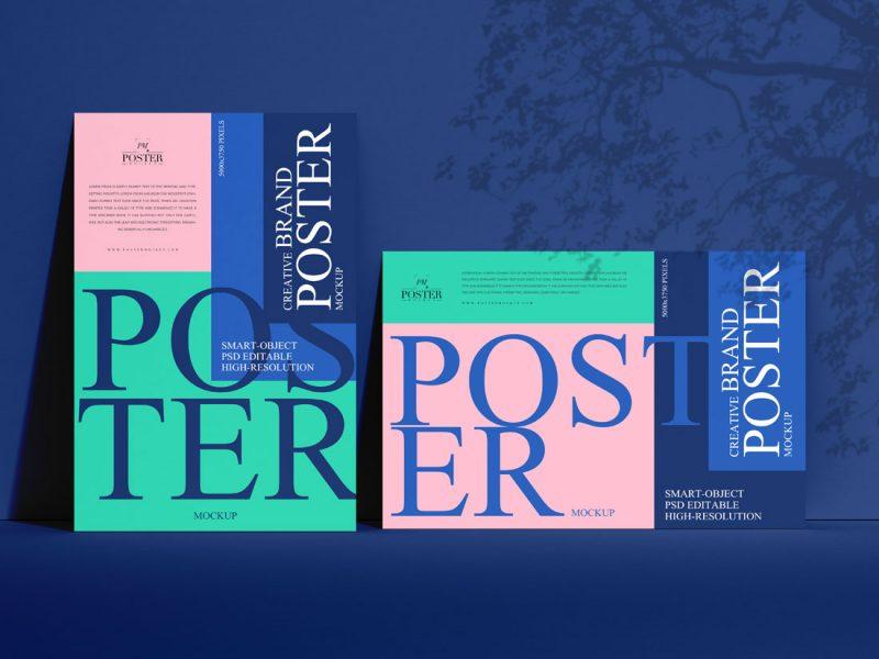 Free-PSD-Horizontal-Vertical-Poster-Mockup