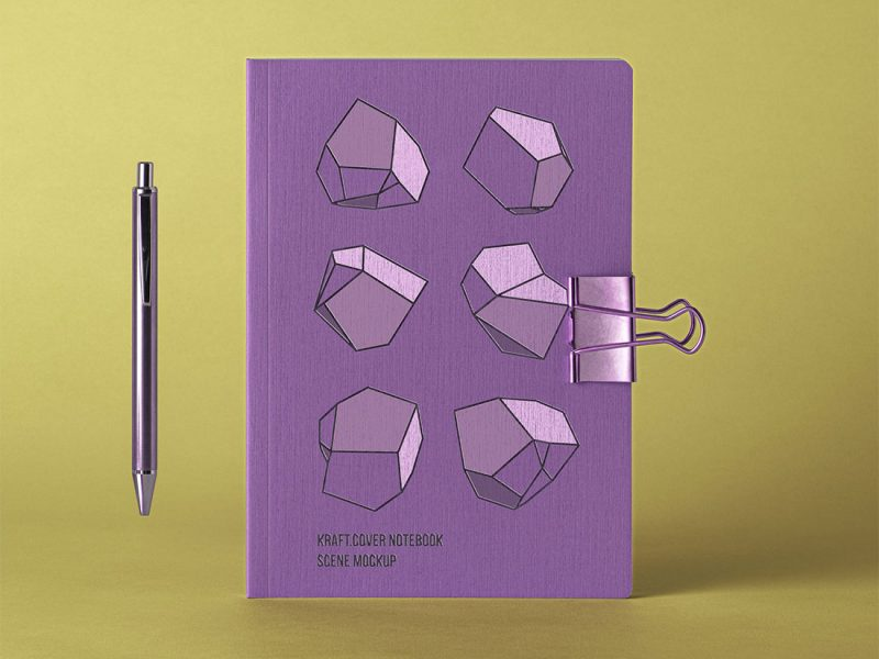 Cover-Kraft-Psd-Notebook-Mockup-Design-Template-6