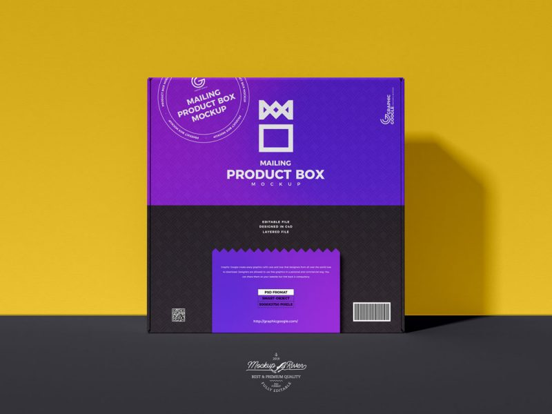 Free-Product-Delivery-Box-Packaging-Mockup-Design-Template